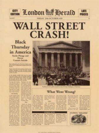 criza economica 1929-1933